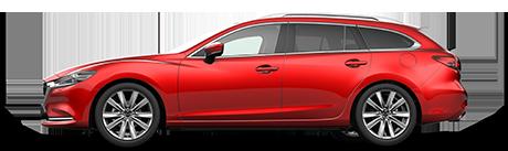 New Mazda 6 Tourer Cars