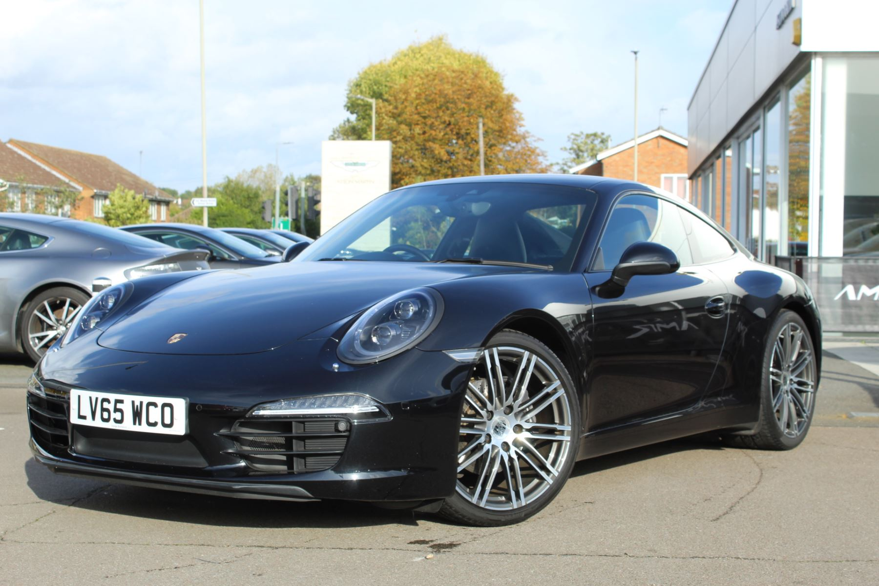 Porsche 911 Black Edition 2dr PDK 3.4 Automatic Coupe (2015) image