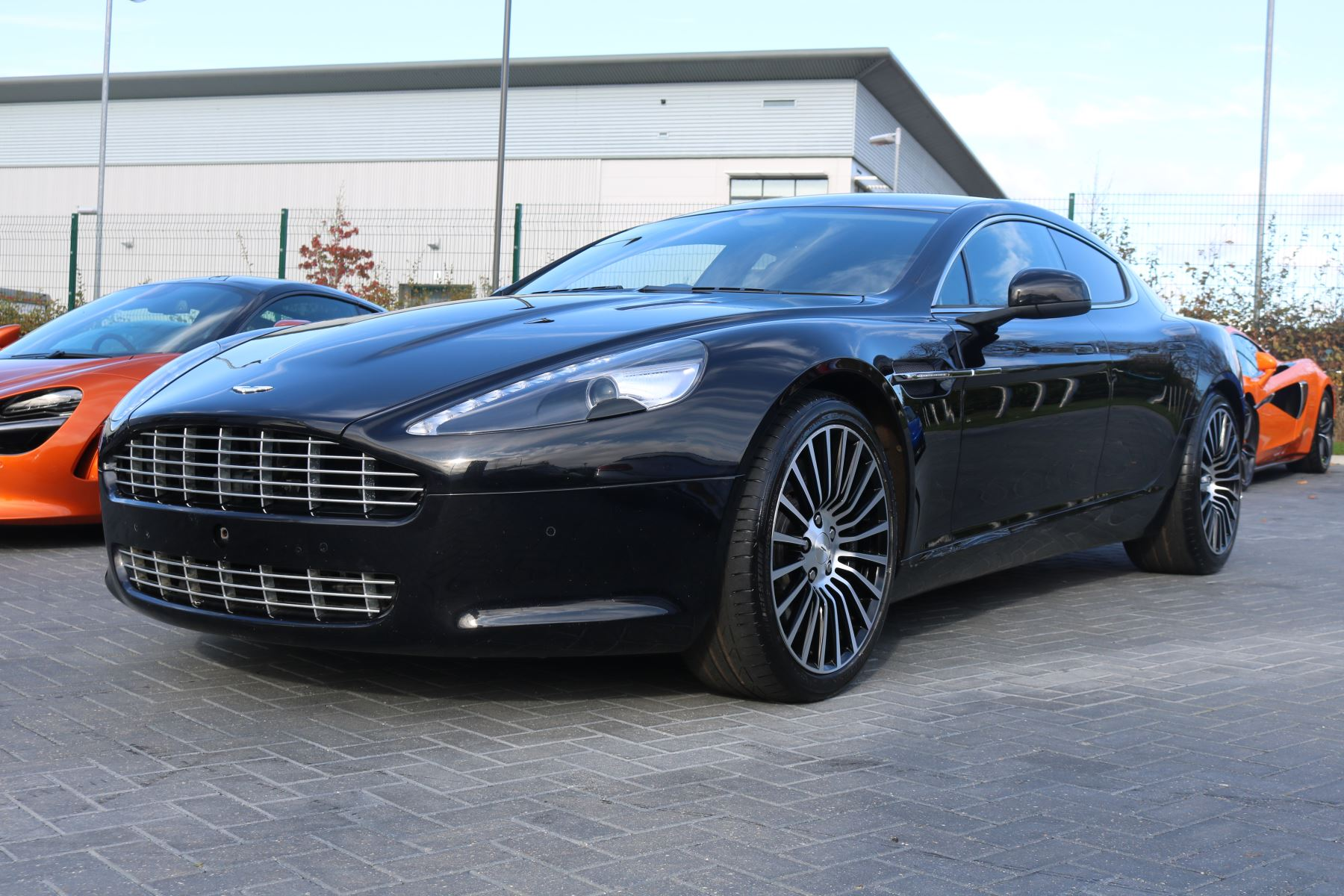 Aston Martin Rapide V12 4dr Touchtronic 5.9 Automatic 5 door Saloon (2012)
