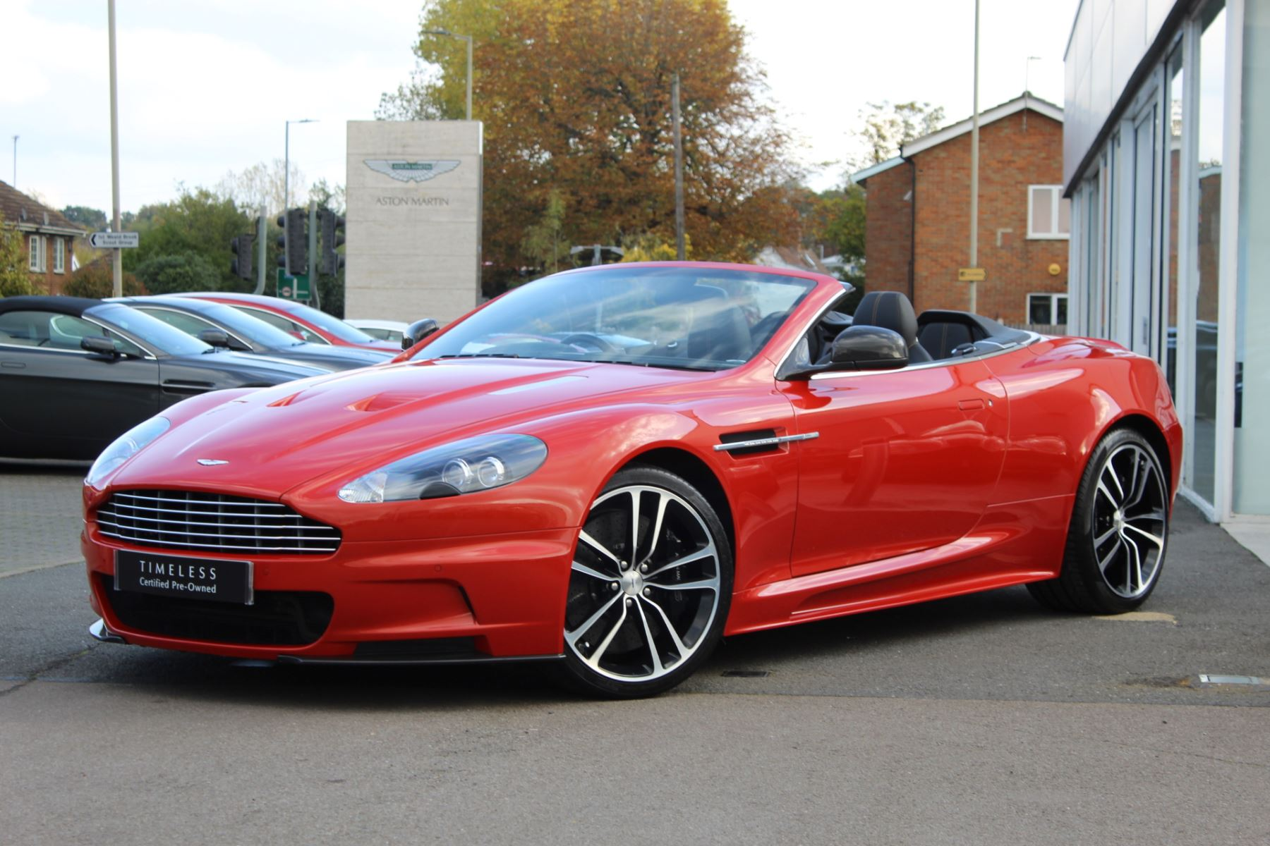 Aston Martin DBS V12 2dr Volante Touchtronic 5.9 Automatic Convertible (2012) image