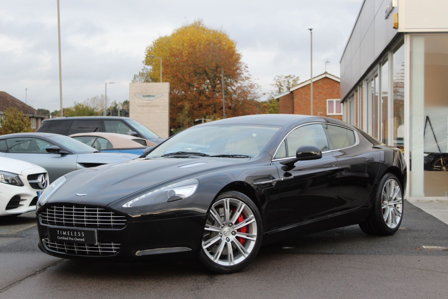 Aston Martin Rapide V12 4dr Touchtronic 5.9 Automatic 5 door Saloon (2011) image