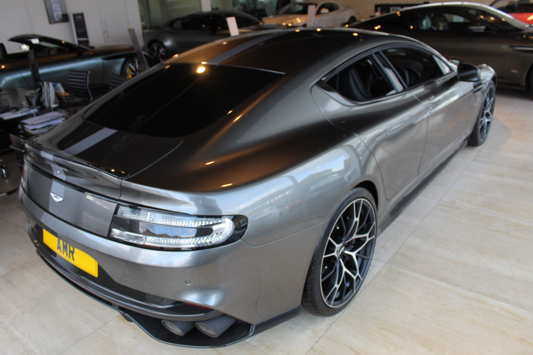 Aston Martin Rapide S V12 Touchtronic image 4