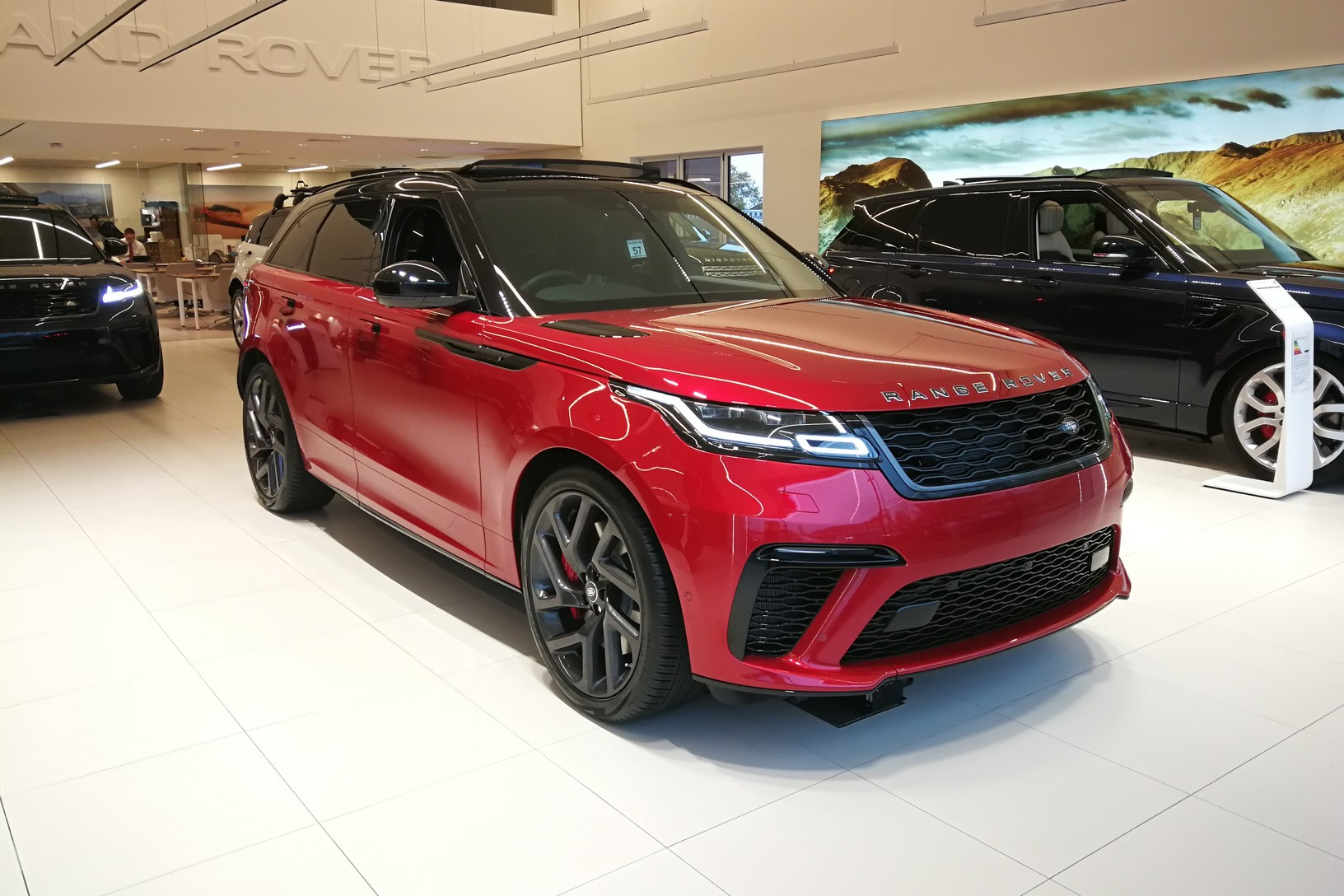 Land Rover Range Rover Velar 5.0 P550 SVAutobiography Dynamic Edition 5dr Auto Automatic 4x4 (2019)