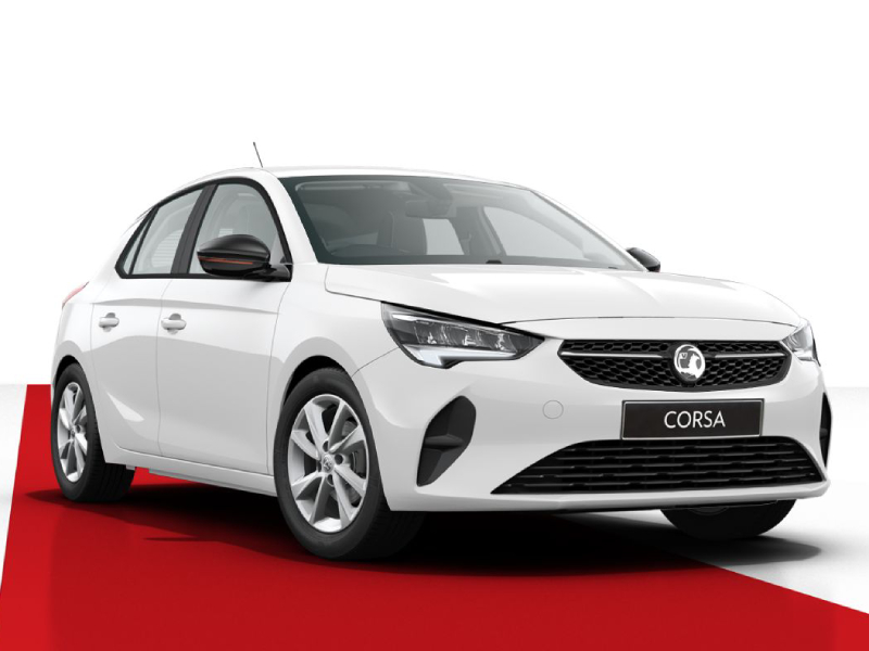 New Vauxhall Corsa SE 1.2 75PS in Summit White