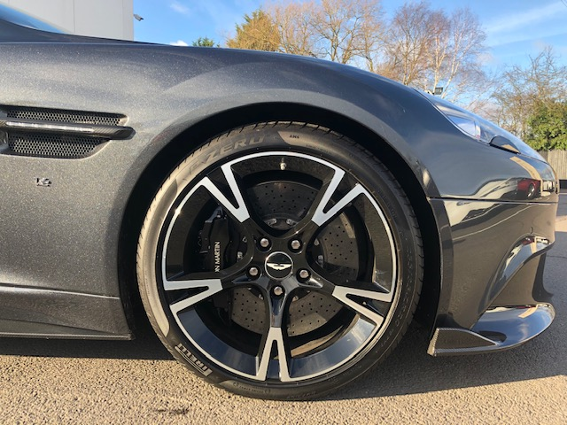 Aston Martin Vanquish S V12 Ultimate Edition [595] S 2+2 2dr Touchtronic image 11