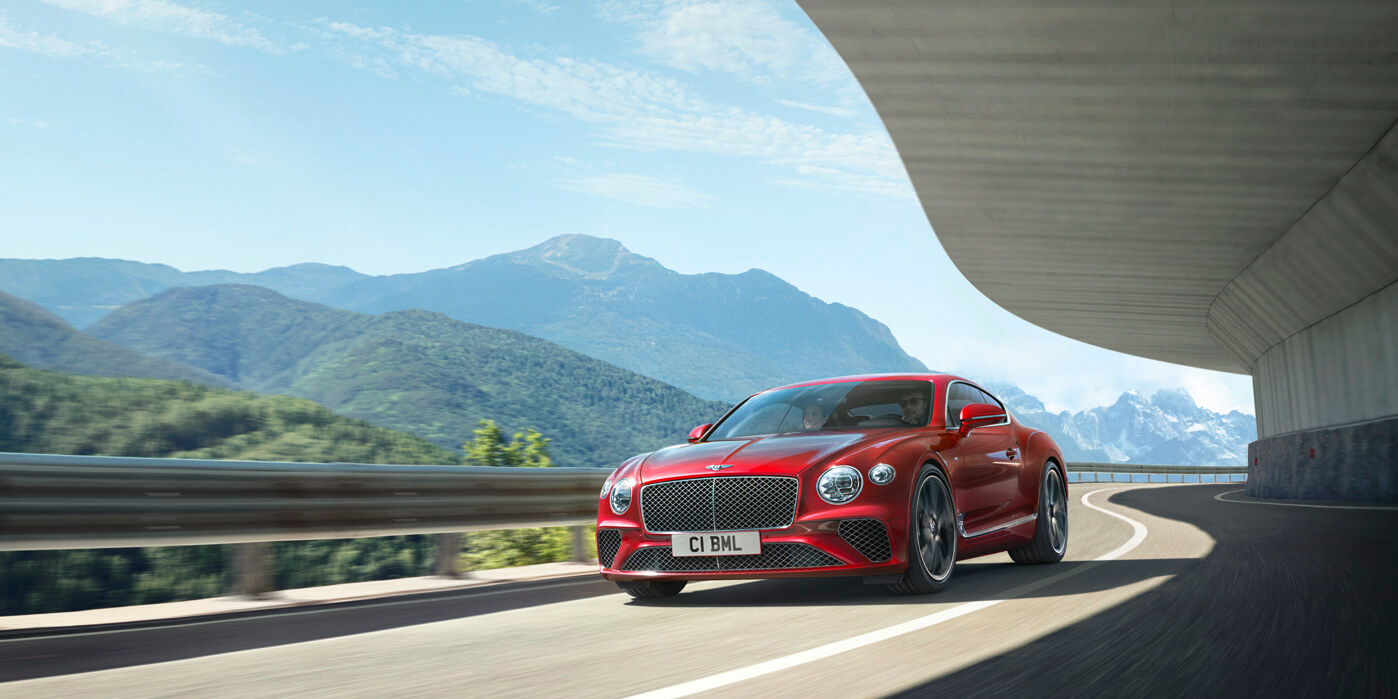Bentley New Continental GT V8 - Breathtaking performance and elegant design