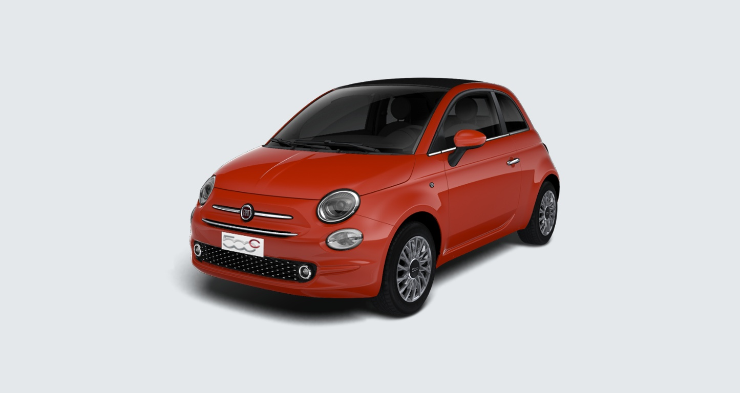 Fiat 500C 1.2 Lounge Convertible