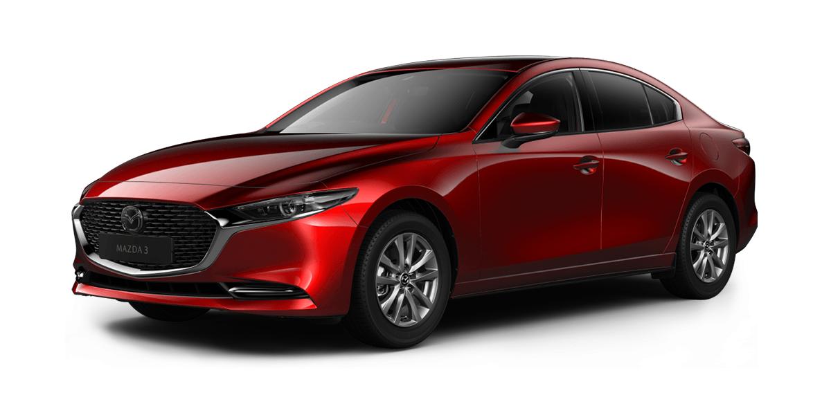 Mazda 3 Saloon 2.0 Skyactiv-X MHEV Sport Lux 4dr