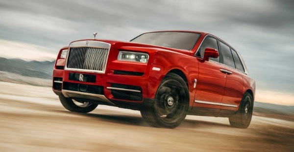 Rolls-Royce Cullinan - Takes the world in its stride