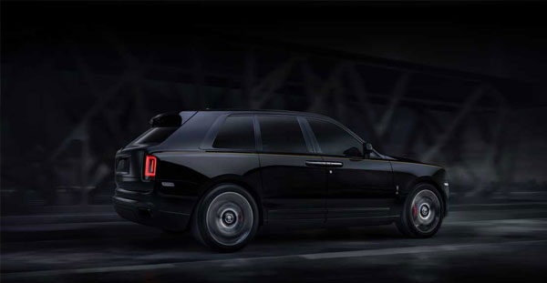 Rolls-Royce Black Badge Cullinan - The most capable Rolls-Royce ever
