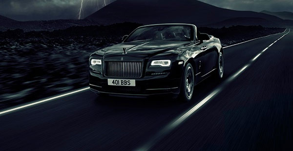 Rolls-Royce Black Badge Dawn - The latest convert to the dark side