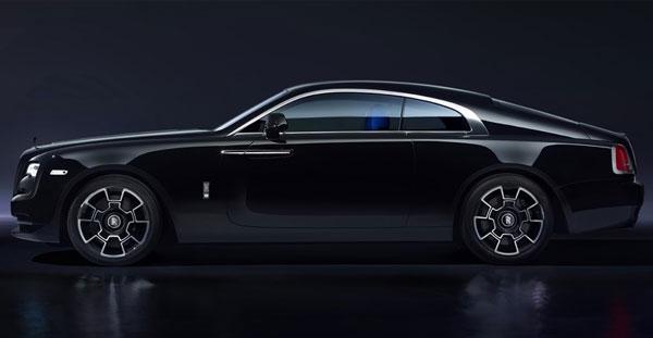 Rolls-Royce Black Badge Wraith - A dynamic Rolls-Royce that powers into the dark