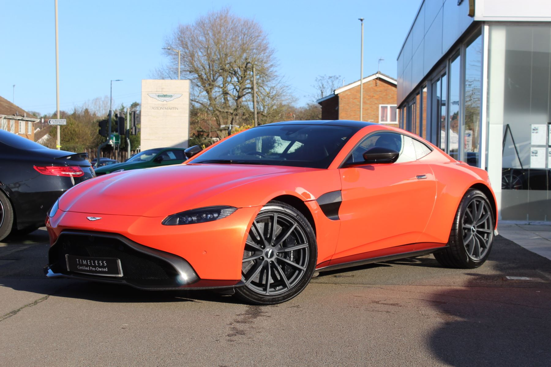 Aston Martin New Vantage 2dr ZF 8 Speed 4.0 Automatic 3 door Coupe (2018)