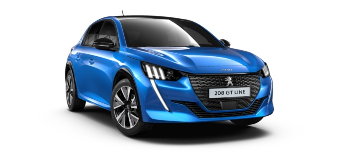 All New Peugeot 208 GT Line