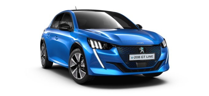 Peugeot 208 Active Electric 50kwh 136