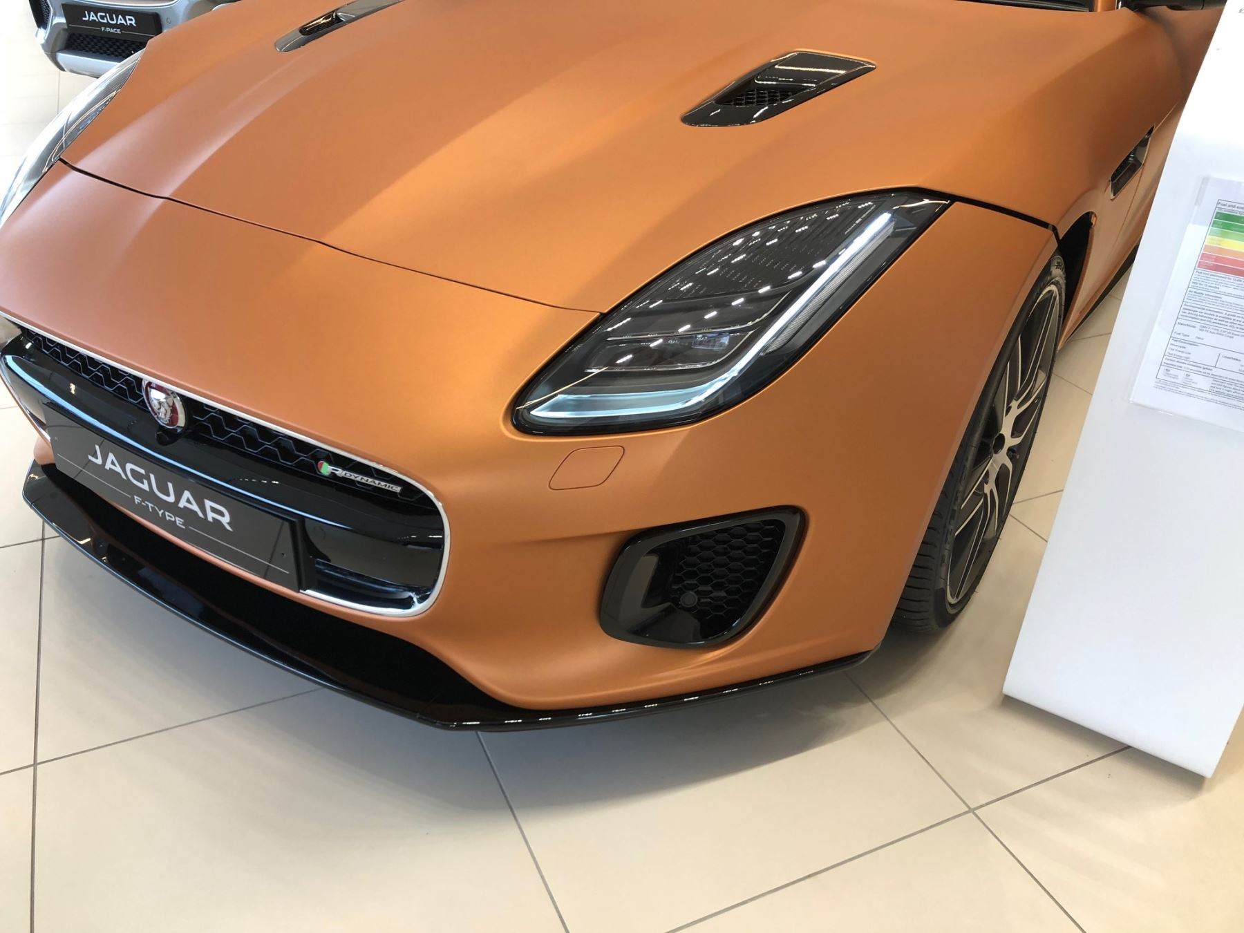 Jaguar F-TYPE Coupe 3.0 [380] Supercharged V6 R-Dynamic 2dr Auto AWD *MANAGERS SPECIAL* image 7