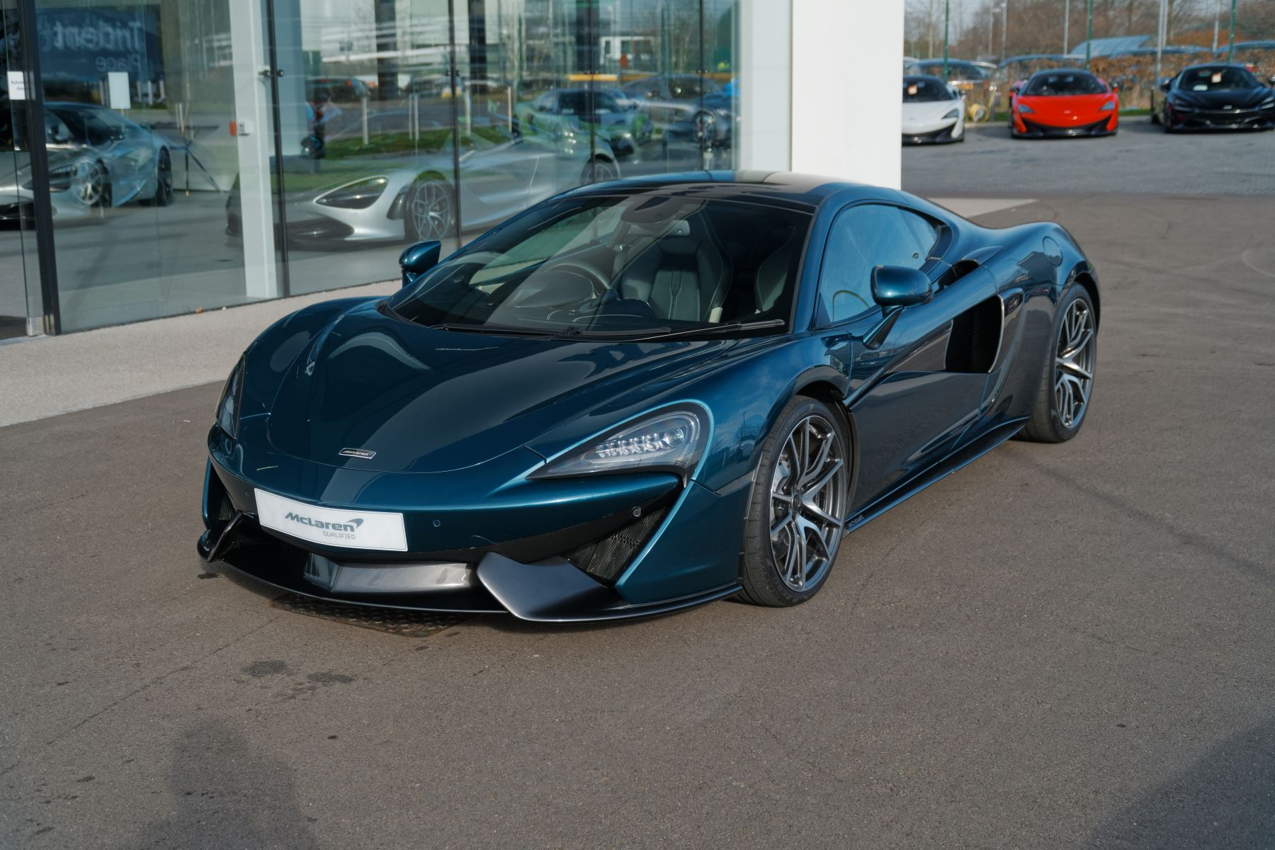 McLaren 570GT SSG  3.8 Semi-Automatic 2 door Coupe (2017)