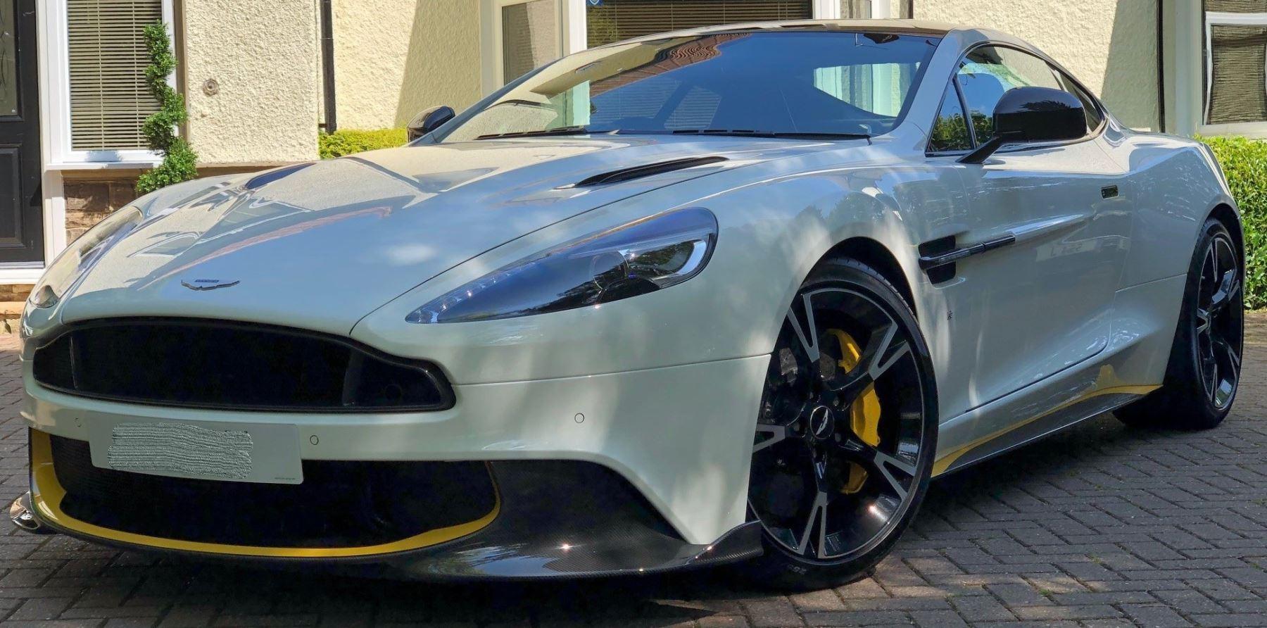 Aston Martin Vanquish S V12 [595] S 2+2 2dr Touchtronic Auto 5.9 Automatic Coupe (2018)
