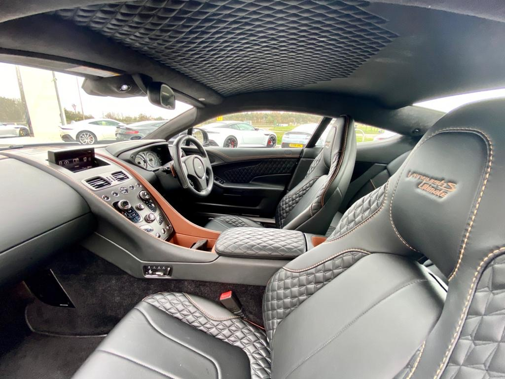 Aston Martin Vanquish S V12 Ultimate Edition [595] S 2+2 2dr Touchtronic image 19