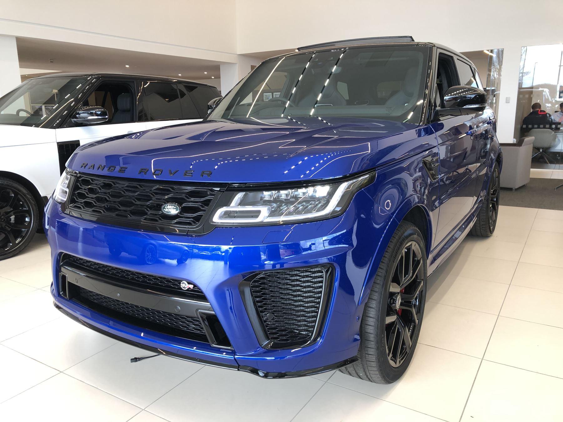 Land Rover Range Rover Sport 5.0 P575 S/C SVR Automatic 5 door Estate (19MY)