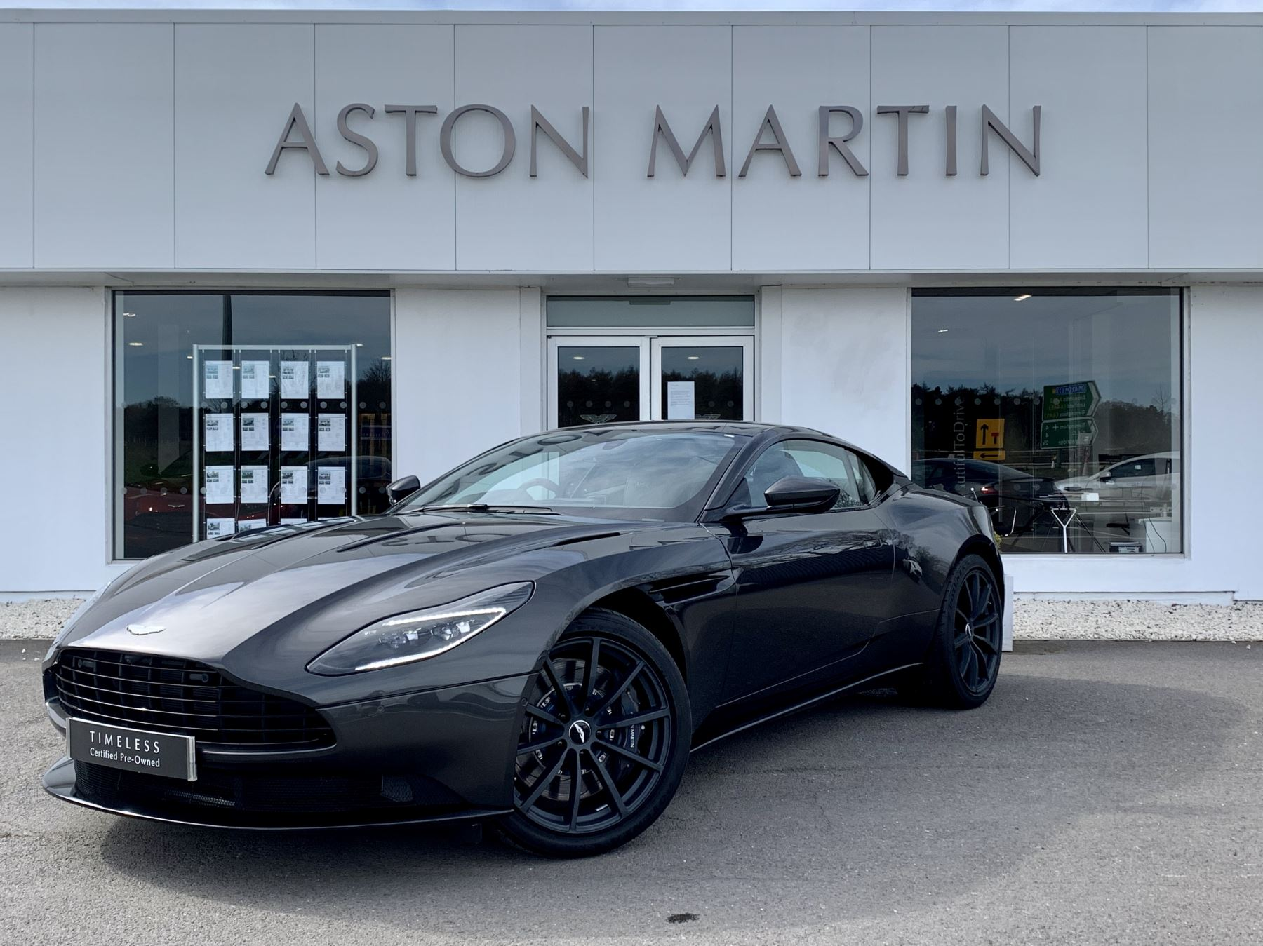 Aston Martin DB11 AMR V12 AMR 2dr Touchtronic Auto Automatic Coupe (2019)