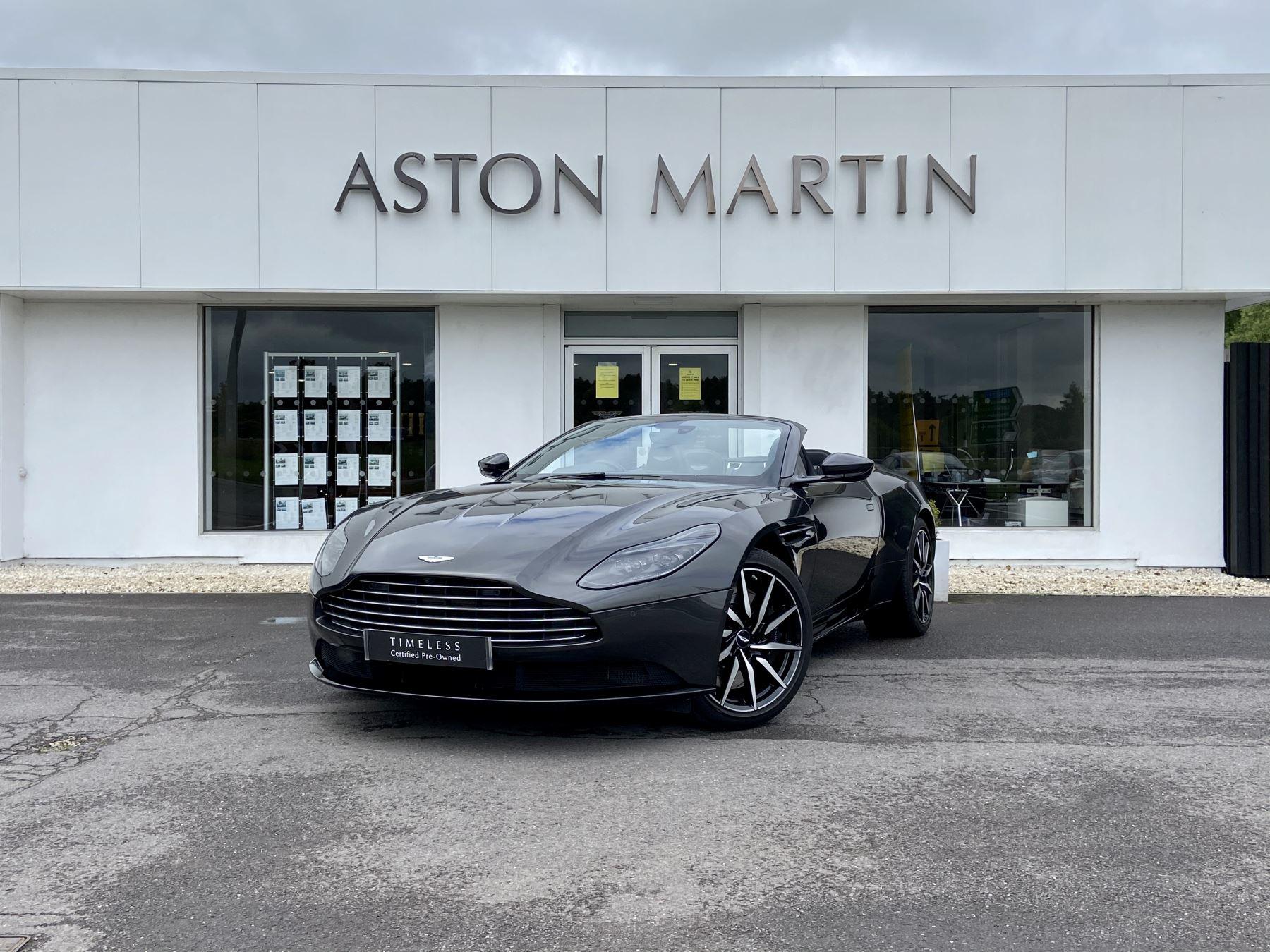 Aston Martin DB11 V8 Volante 2dr Touchtronic 4.0 Automatic Convertible (2018)