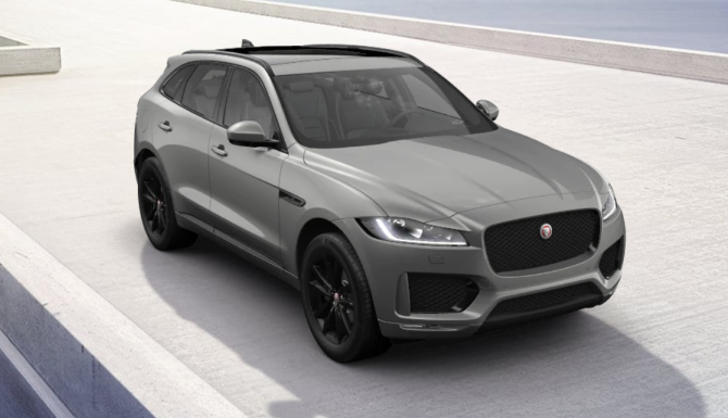 Jaguar F-PACE Chequered Flag Special Edition Offer