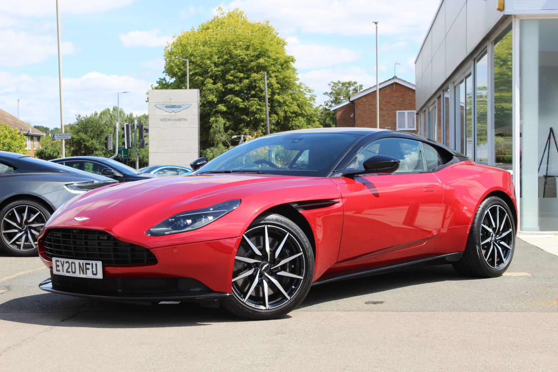 Aston Martin DB11 V8 2dr Touchtronic 4.0 Automatic Coupe (2020)