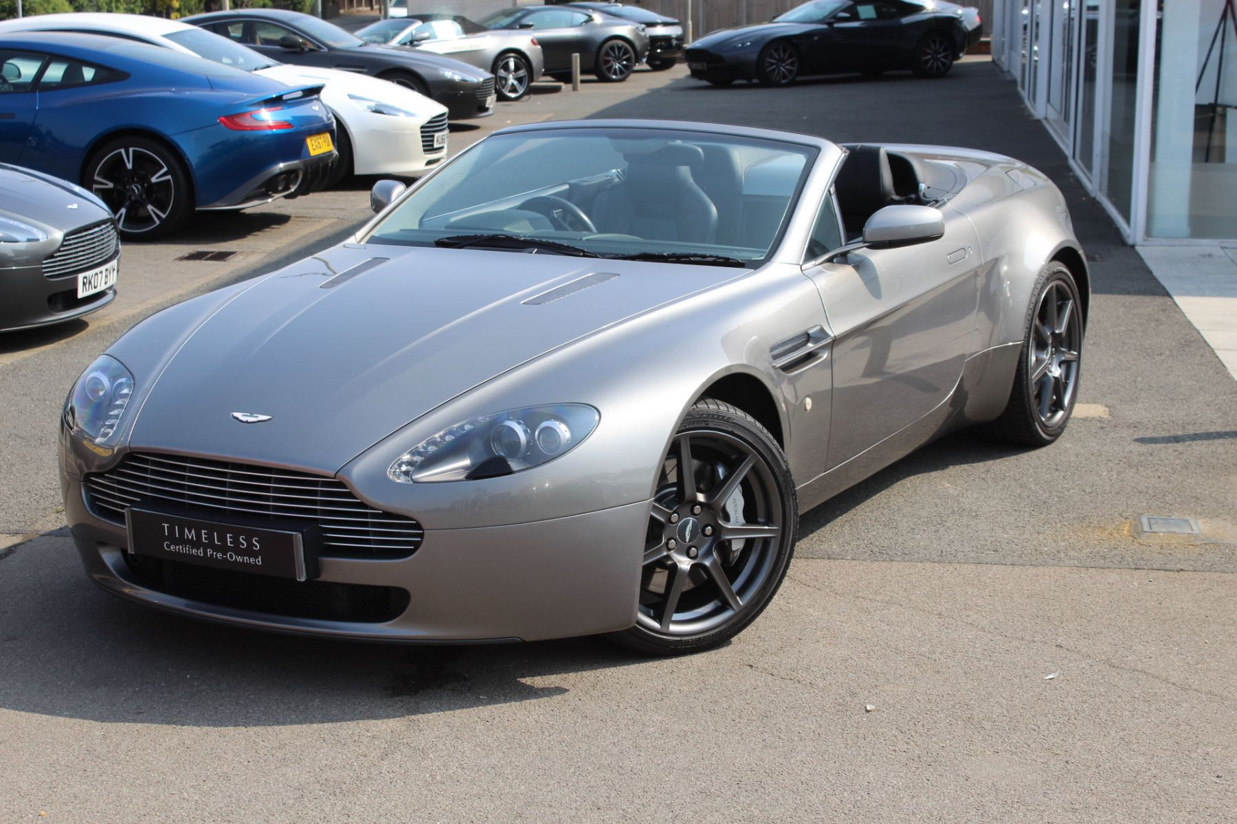 Aston Martin V8 Vantage Roadster 2dr Sportshift 4 3 Automatic Roadster 2008 Available From Bentley Tunbridge Wells