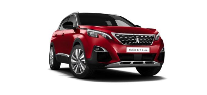 Peugeot 3008 SUV 1.2 PureTech GT Line Premium 5dr EAT8