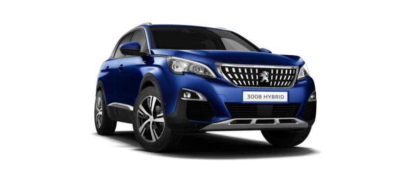 Peugeot 3008 SUV 1.6 Hybrid Allure 5dr e-EAT8