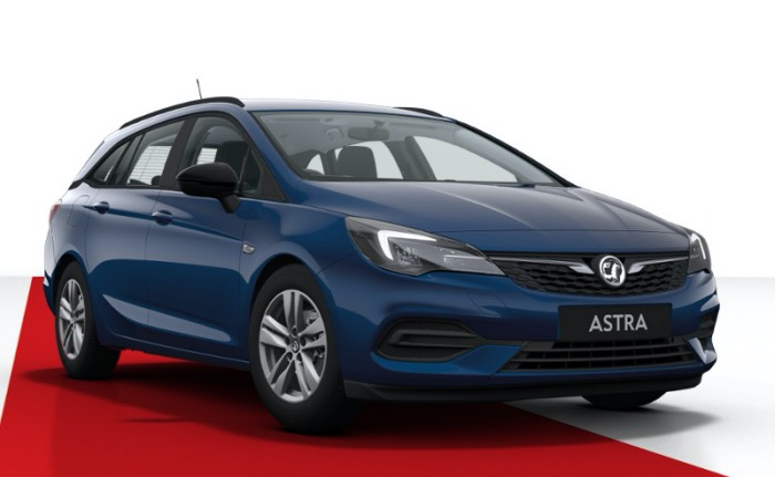 Vauxhall New Astra Sports Tourer 1.2 Turbo 130 Business Edition Nav 5dr