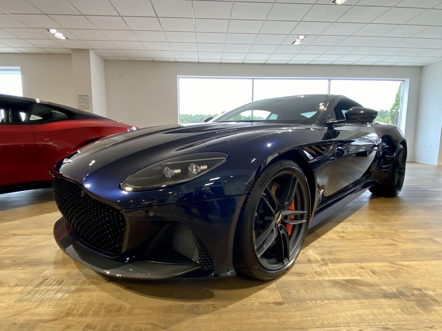 Aston Martin DBS V12 Superleggera Touchtronic 5.2 Automatic 2 door Coupe