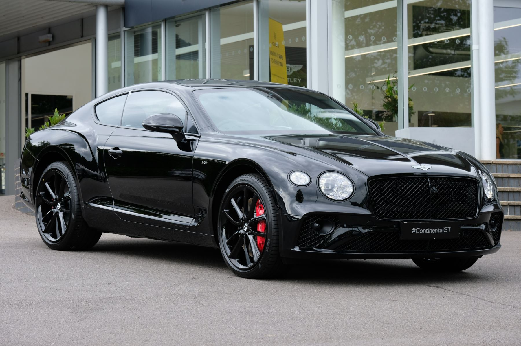 Bentley Continental GT V8 Mulliner Driving Specification 4.0 Automatic 2 door Saloon (2020)