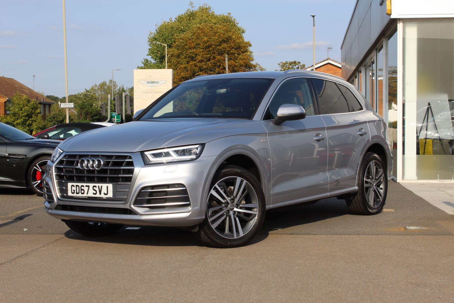 Audi Q5 2.0T FSI Quattro S Line 5dr S Tronic Automatic Estate (2018)
