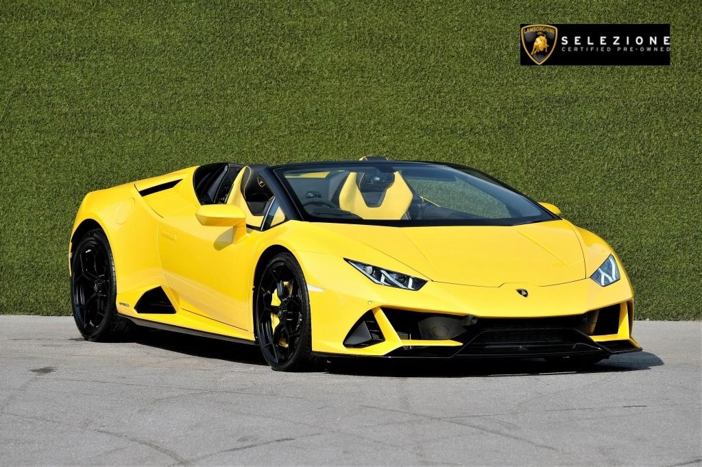 Lamborghini Huracan EVO Spyder LP 640-4 image 1
