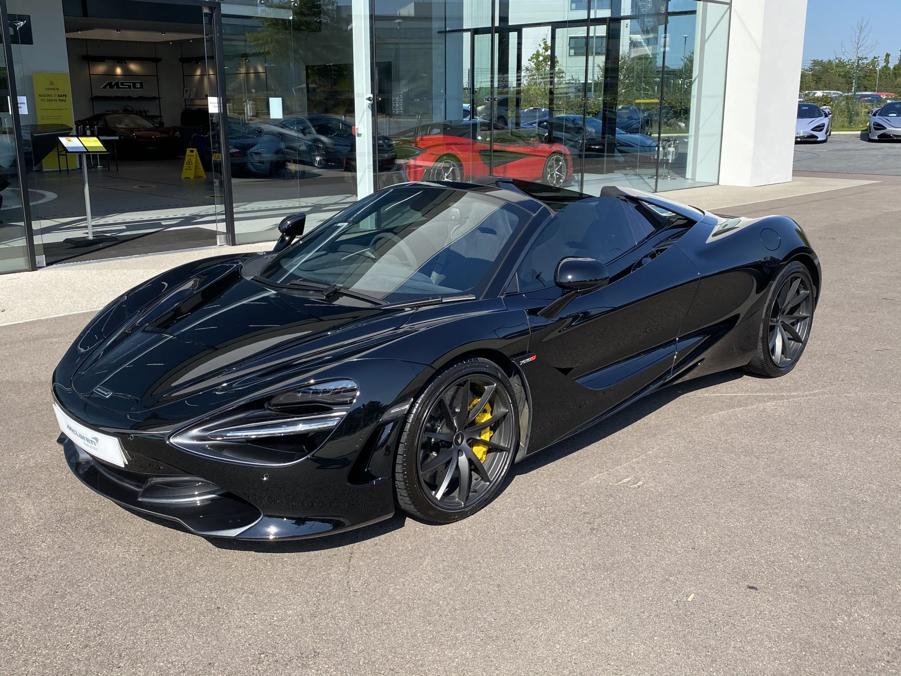 McLaren 720S Spider SSG  3.8 Semi-Automatic 2 door Convertible (2019)