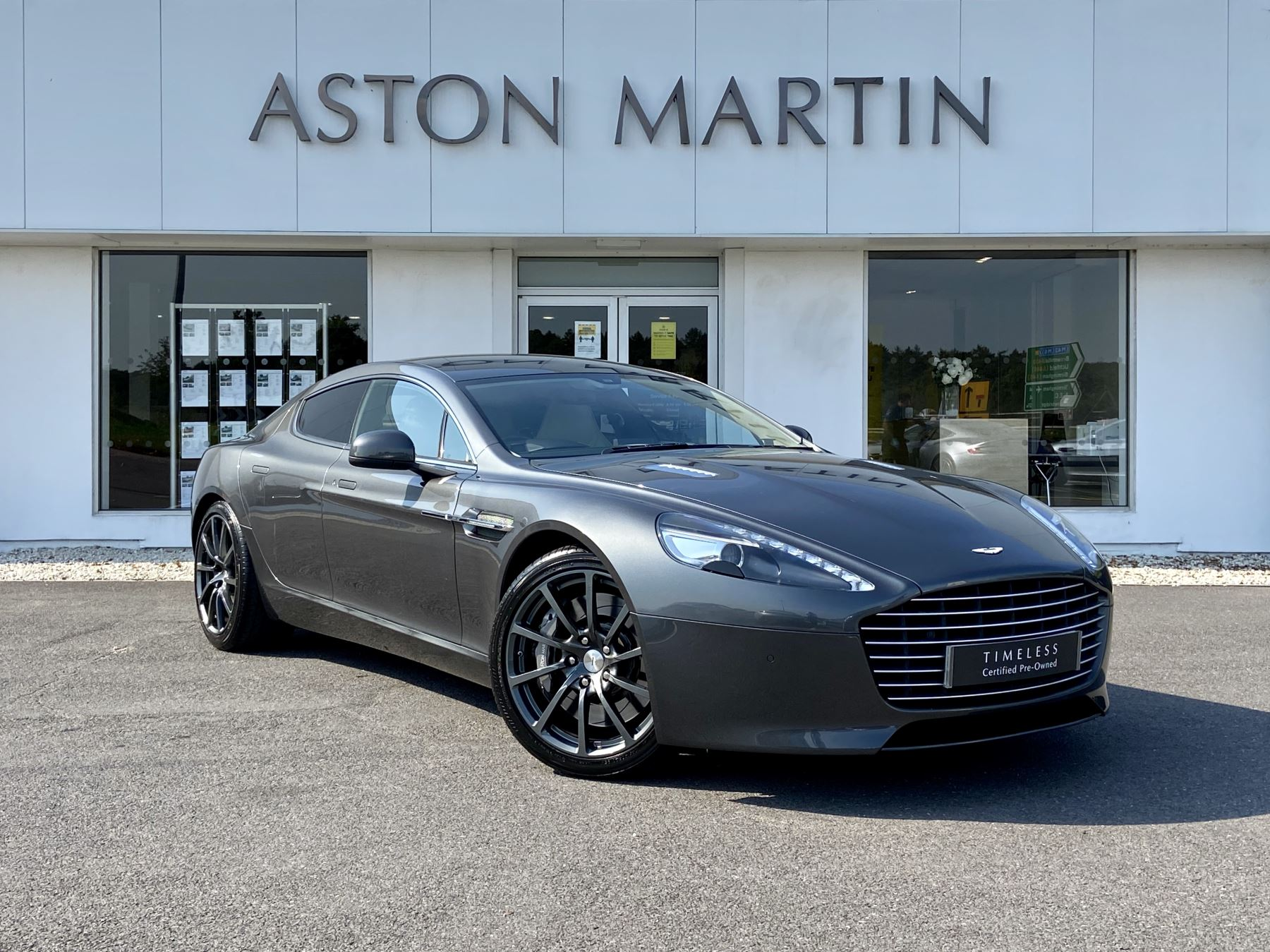 Aston Martin Rapide S V12 [552] 4dr Touchtronic III 5.9 Automatic 5 door Saloon (2015)