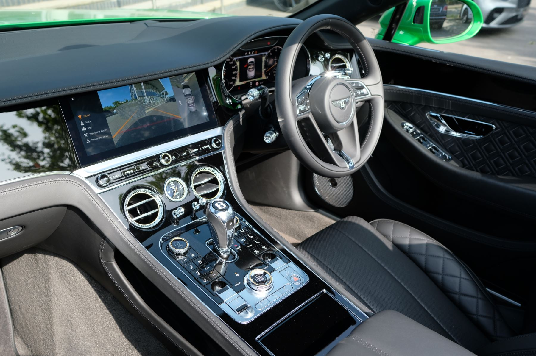 Bentley Continental GTC 6.0 W12 2dr Mulliner Driving Specification image 11