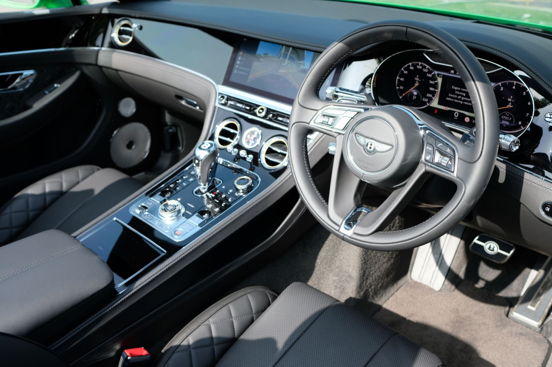 Bentley Continental GTC 6.0 W12 2dr Mulliner Driving Specification image 12