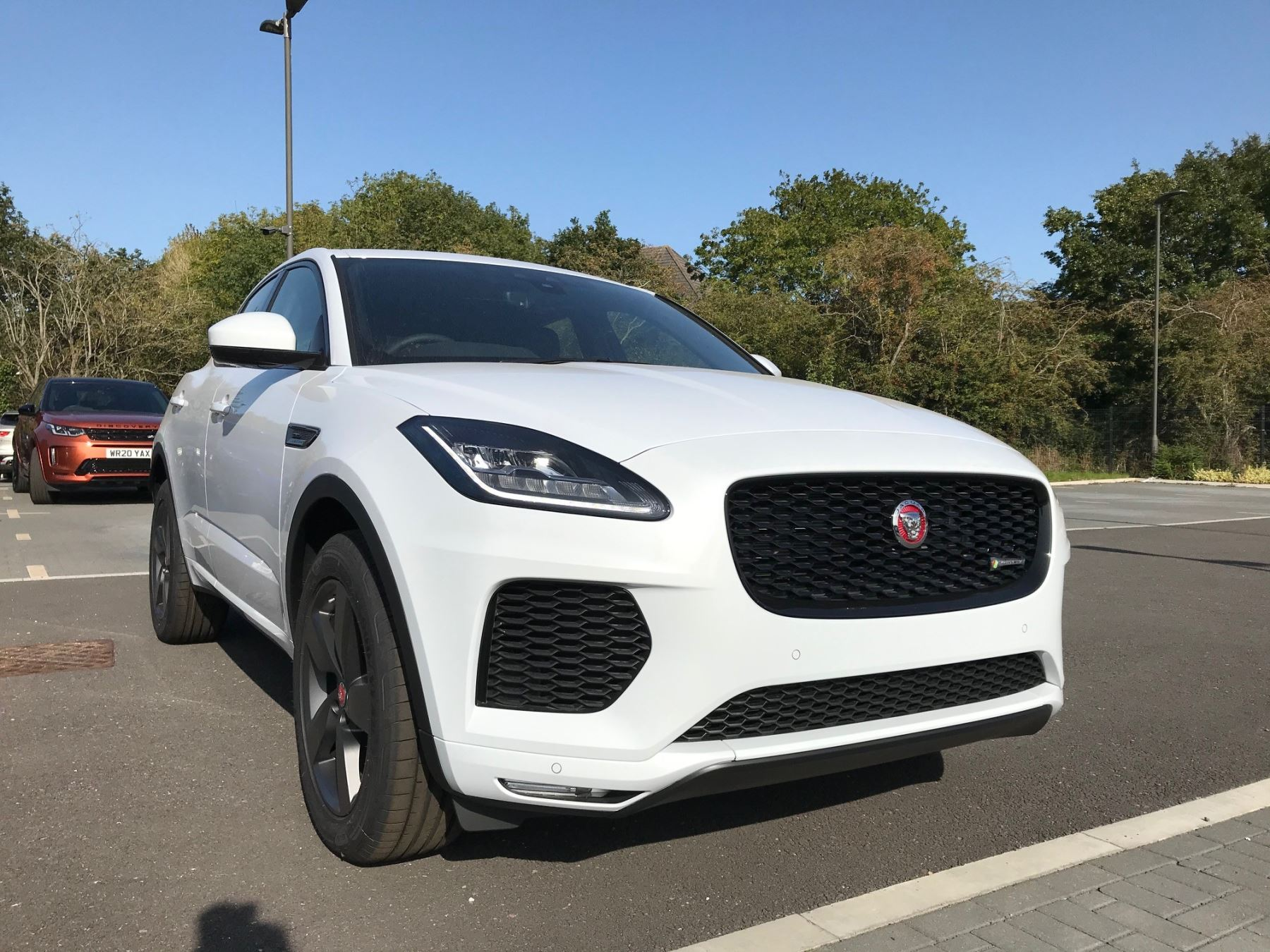 Jaguar E-PACE 2.0d [180] Chequered Flag Edition SPECIAL EDITIONS Diesel Automatic 5 door Estate