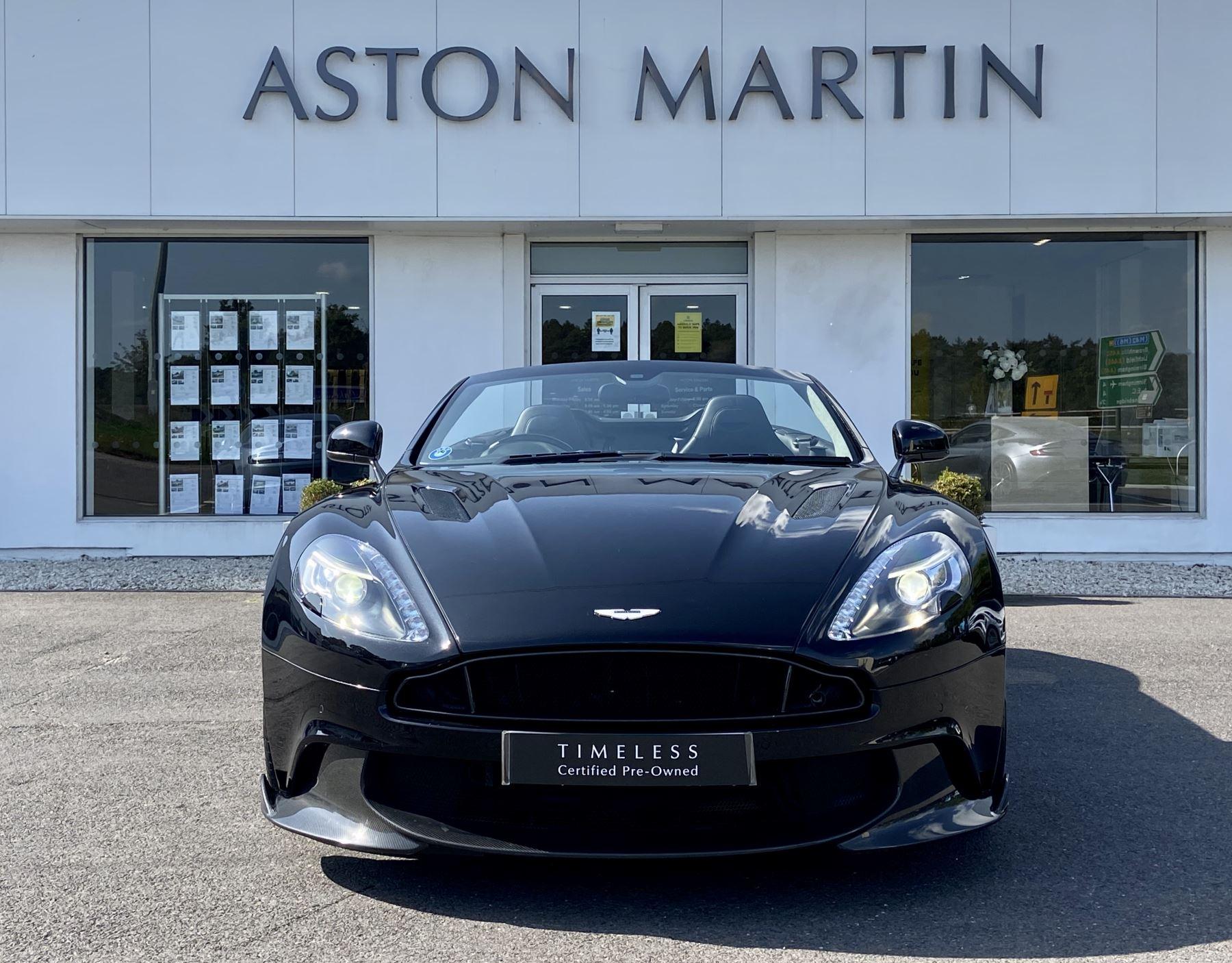 Aston Martin Vanquish V12 [595] S 2dr Volante Touchtronic image 2