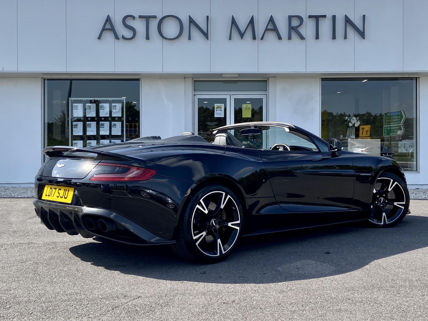 Aston Martin Vanquish V12 [595] S 2dr Volante Touchtronic image 8