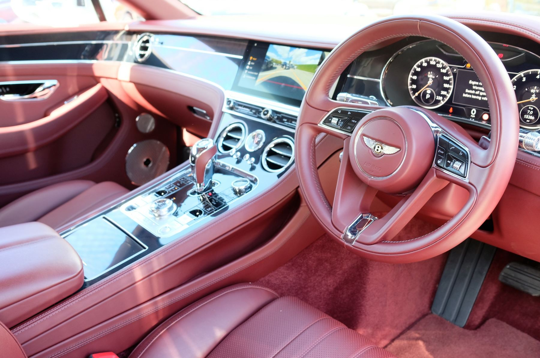 Bentley Continental GT 6.0 W12 Centenary, City and Touring Specification image 12