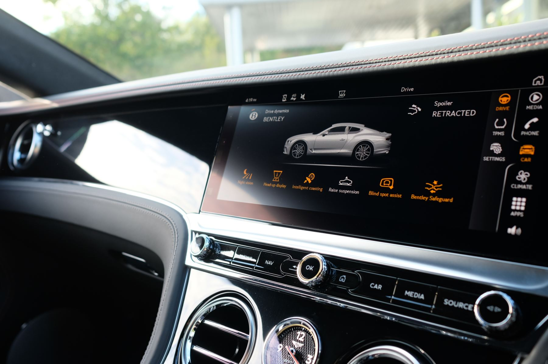 Bentley Continental GT 4.0 V8 2dr Auto [City+Touring Spec] image 17