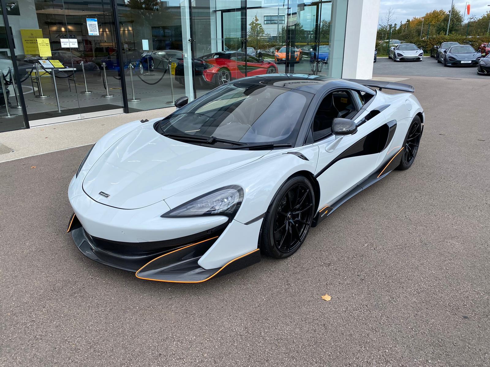 McLaren 600LT V8 2dr SSG 3.8 Automatic Coupe (2021)