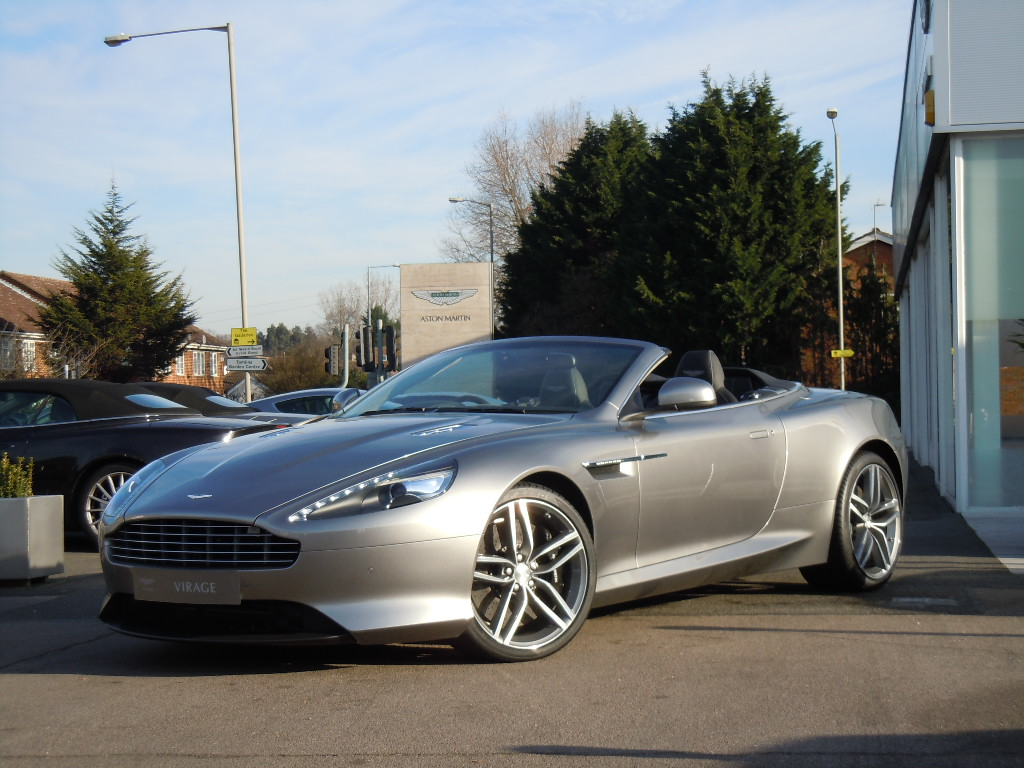 Aston Martin Virage V12 2dr Volante Touchtronic 5.9 Automatic Convertible (2012)