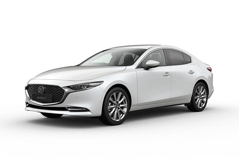 Mazda 3 Saloon 2.0 Skyactiv-X MHEV GT Sport 4dr