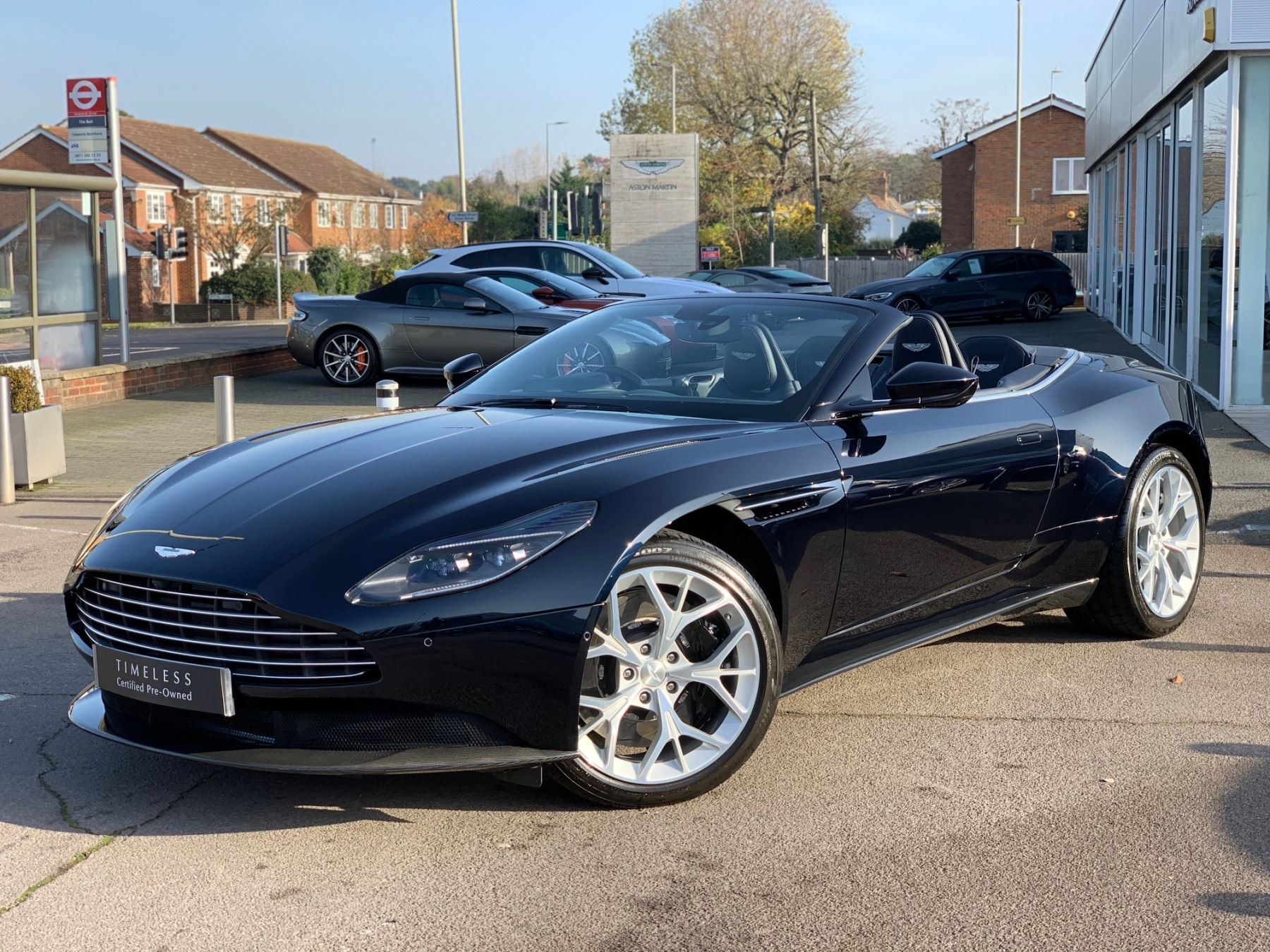 Aston Martin DB11 V8 Volante 2dr Touchtronic 4.0 Automatic Convertible (2018)