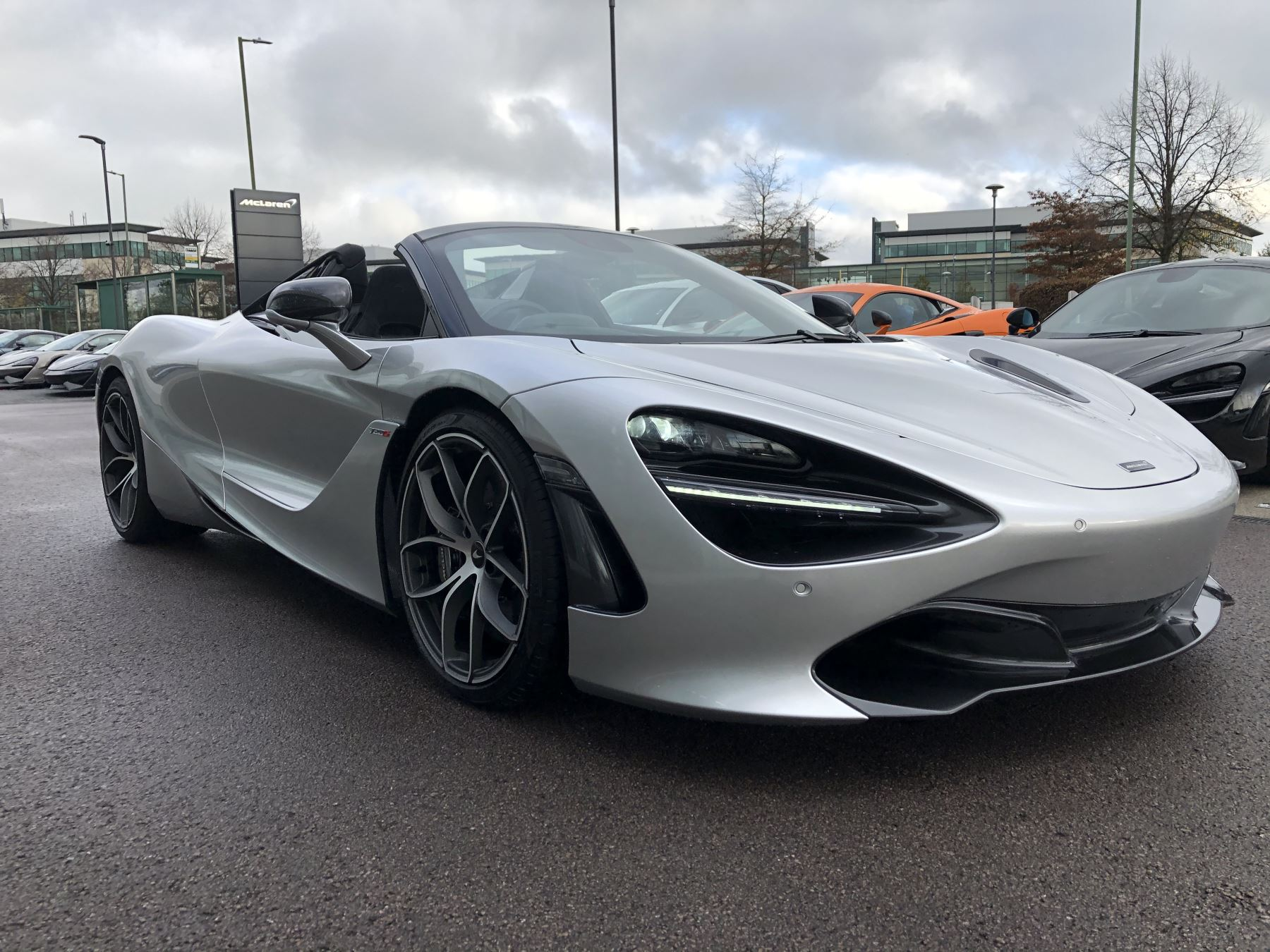 McLaren 720S Spider V8 Performance 2dr SSG Auto 4.0 Automatic Convertible (2021)